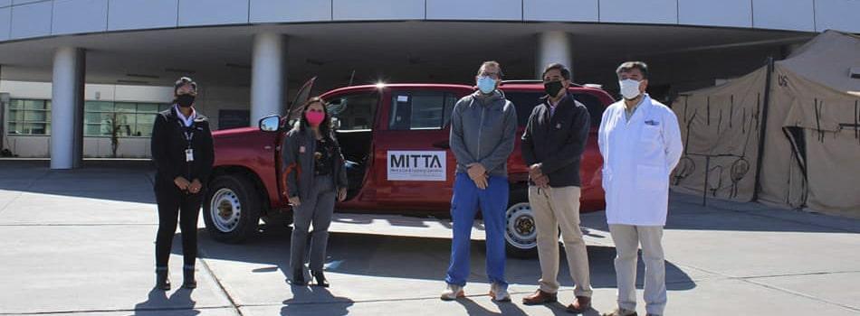 MITTA apoya en esta emergencia sanitaria al Hospital de Calama