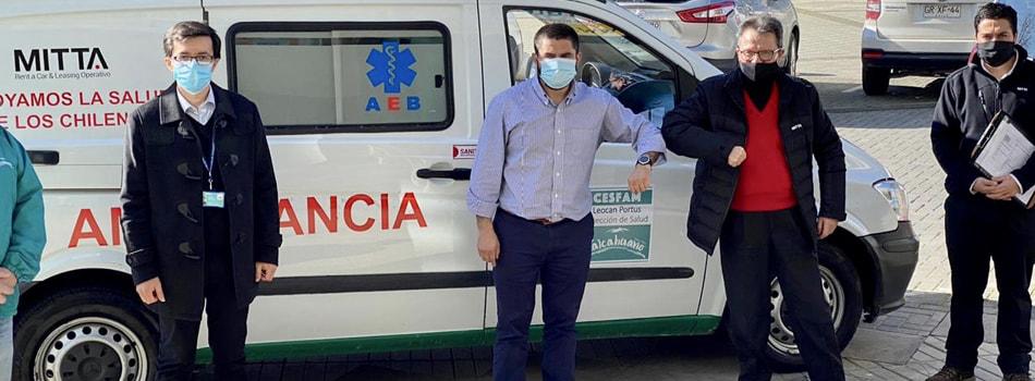 MITTA Concepción entrega ambulancia a CESFAM