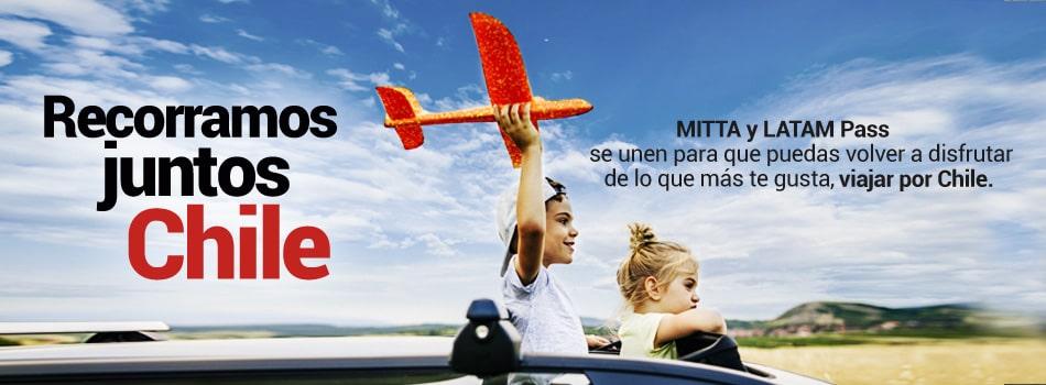MITTA Sortea 500.000 Millas LATAM Pass